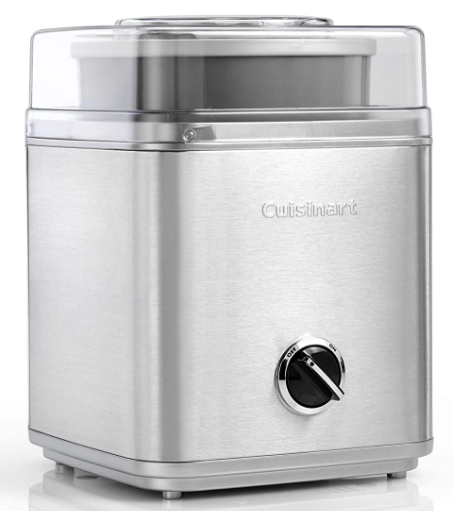 Cuisinart ICE30 Ice Cream Maker, Sorbet and Frozen Yogurt Maker, Silver, 220V: Best Ice Cream Maker In India Done