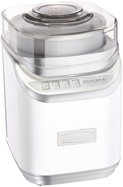 Cuisinart White, Ice Cream Maker Without Countdown Timer, White: Best Ice Cream Maker In India Done