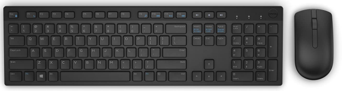 DELL 5WH32 Wireless Keyboard and Mouse Combo: Wireless keyboard And Mouse