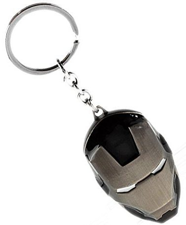 FARRAIGE Iron Man Face Superhero Metal Keychain: Keychain