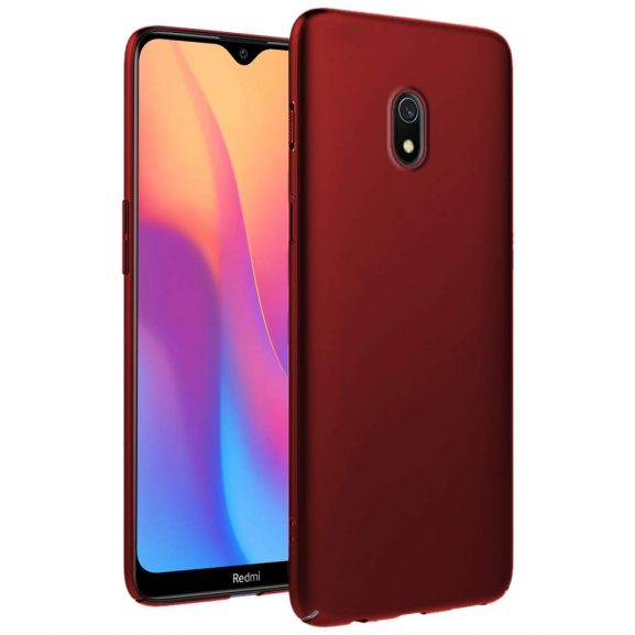Genron Back Cover Case: Redmi 8A Silicon Case