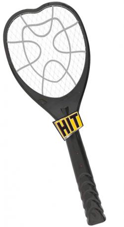 HIT Anti Mosquito Racquet Killer Bat with LED Light: Mosquito Killer Racket
