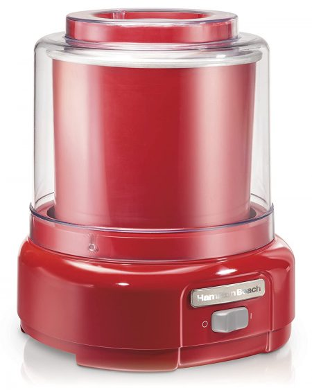 Hamilton Beach Ice Cream Maker, 1.5-Quart, Red (68881Z): Best Ice Cream Maker In India Done