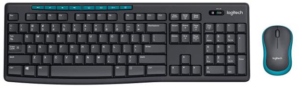 Logitech MK275 Wireless Keyboard and Mouse Combo: Wireless keyboard And Mouse