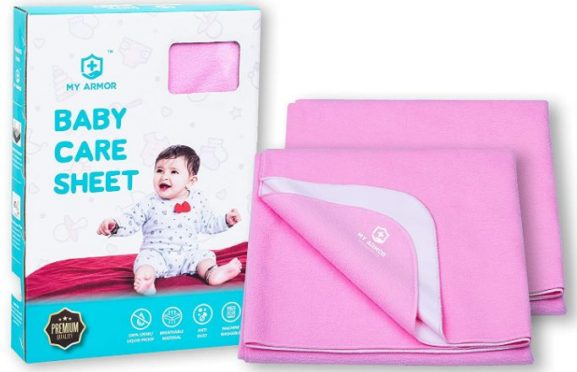 MY ARMOR Baby Dry Sheet/Mattress Protector: Best Baby Dry Sheet