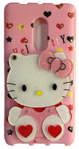 Mobyro Redmi 8A Mirror Kitty Cover: Redmi 8A Silicon Case