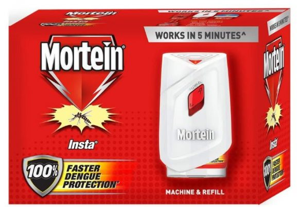Mortein Insta5 Combo Machine with Refill: Electric Mosquito Killer