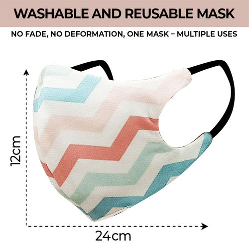 Nyka Woman Washable and Reusable Face Mask: Best Printed Mask