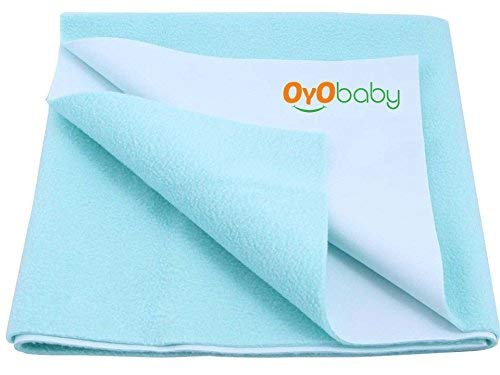 OYO BABY-Waterproof and Reusable Mat/Mattress Protector and Absorbent Sheets: Best Baby Dry Sheet