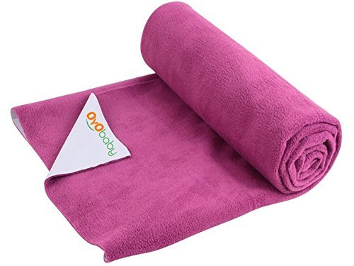 OYO Baby Care Waterproof Bed Protector Baby Care Dry Sheet, Medium, Rani Pink: Best Baby Dry Sheet