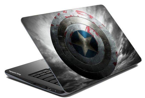 Paper Plane Design Laptop Skin - Vinyl Decal CoverMulticolor Pattern123: Best Skin Cover For Laptop