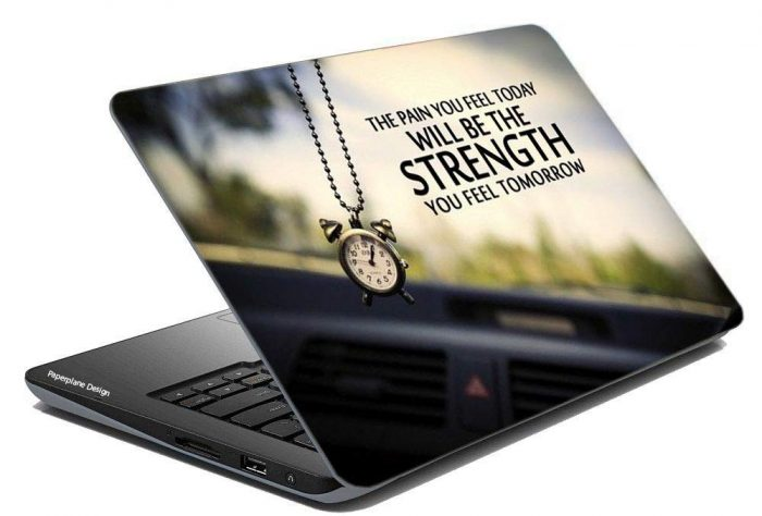 Paper Plane Design PPD Combo of Laptop Skin Cover With Hard Disk Skin: Best Skin Cover For Laptop