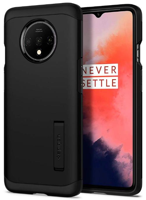 Spigen Tough Armor Back Cover Case Designed for OnePlus 7T - Black: Best OnePlus 7T Cover