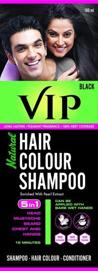 VIP Hair Color Shampoo, 180ml: Hair Color Brand