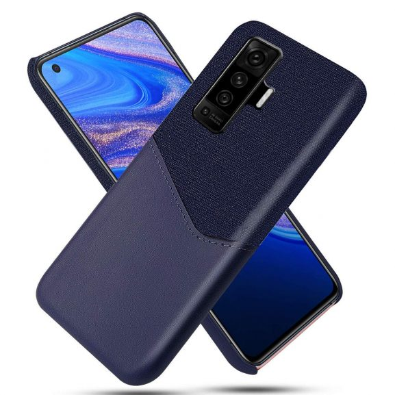 Excelsior Leather Premium PU Cover Case: Phone Case for Vivo X50 Pro