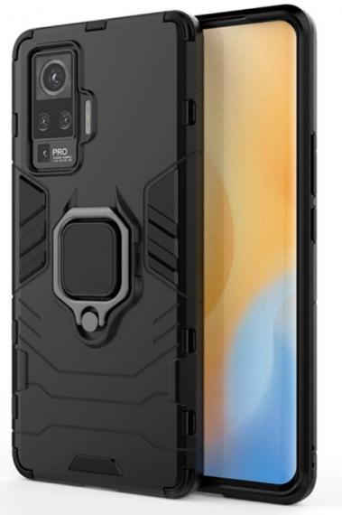 Gift Kart Vivo Tough Armor Bumper Back Case: Phone Case for Vivo X50 Pro
