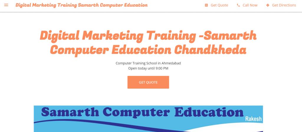 Samrath computer education