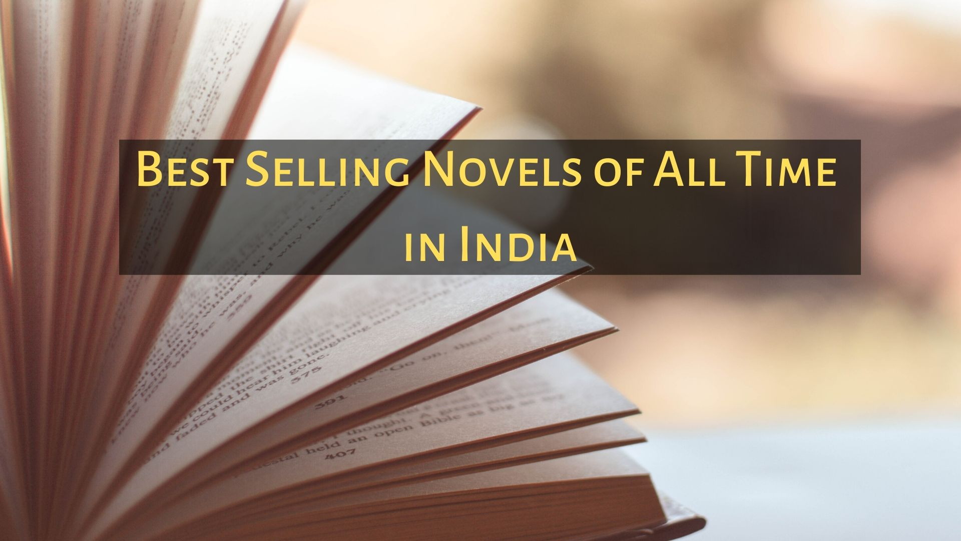 Best Selling Novels of All Time in India