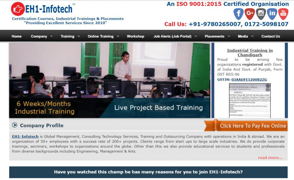 EH1 Infotech Sector 22D CHD
