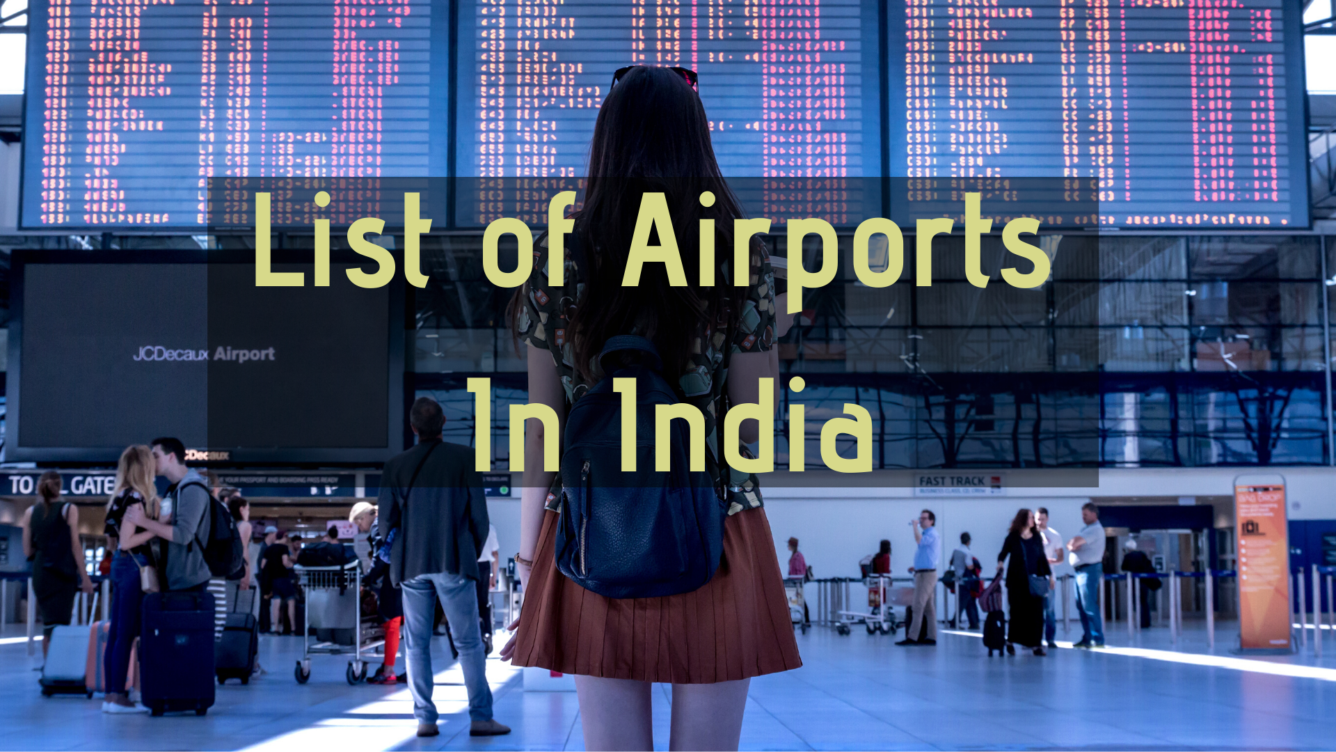List of Airports In India