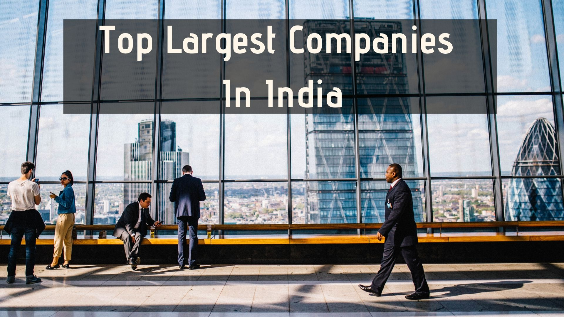 top largest companies in india