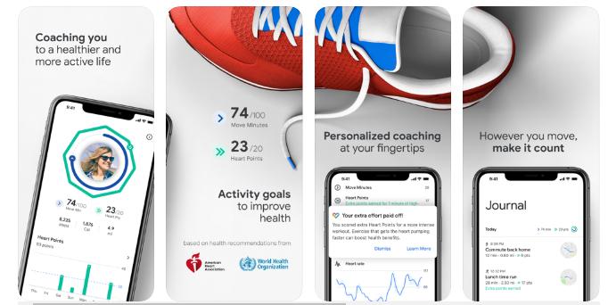 Google Fit best fitness App