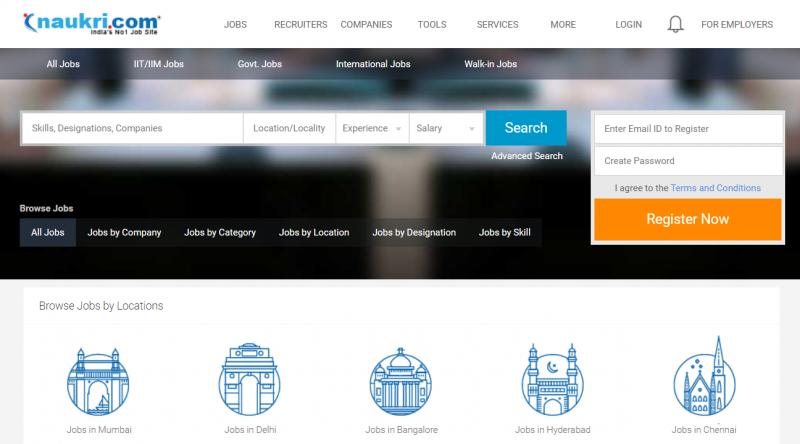 naukri.com job portal