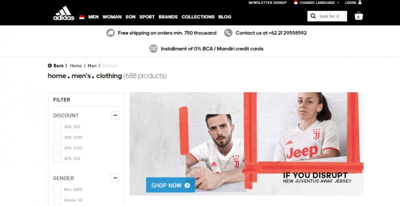 Adidasbest men clothing brand