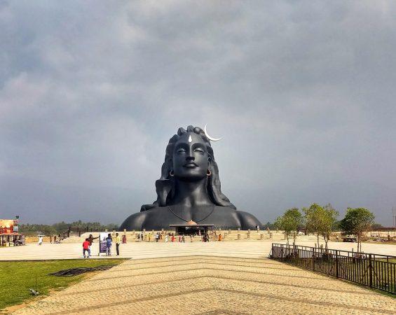 Adiyogi Shiva Statue tallest staue in india