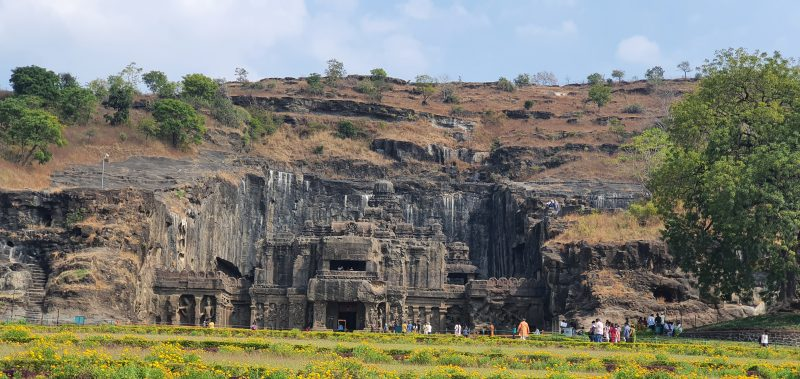 Ajanta and Ellora caves caves in india
