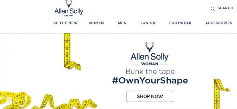 Allen Solleybest men clothing brand