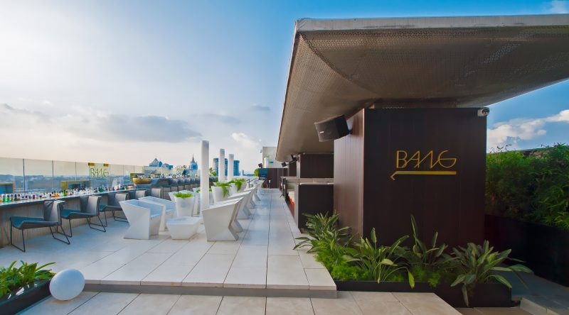 BANG! - The Ritz-Carlton best rooftop restaurant in bangalore