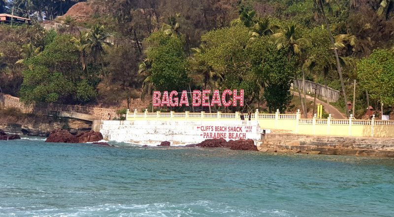 baga beach beautiful beaches in india