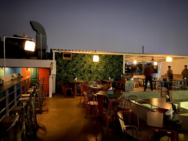 Brewsky best rooftop restaurant in bangalore