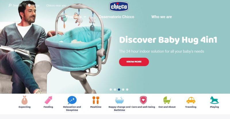 Chicco kids clothing brand in india