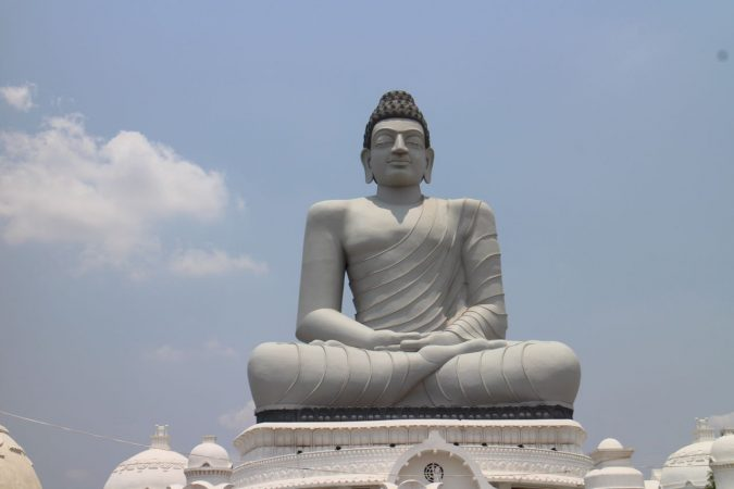 Dhyana Buddha Statue tallest statue in india