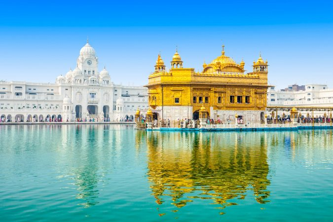 Golden Temple religious places in india