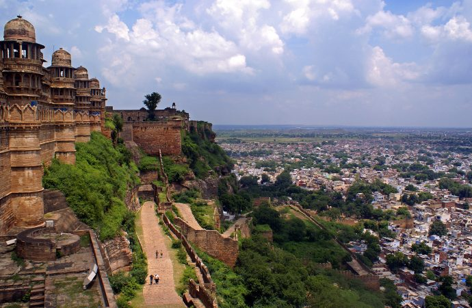 Gwalior Fort historical sites of india