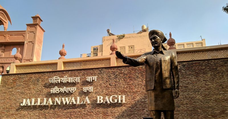 Jallianwala bagh historical places of india