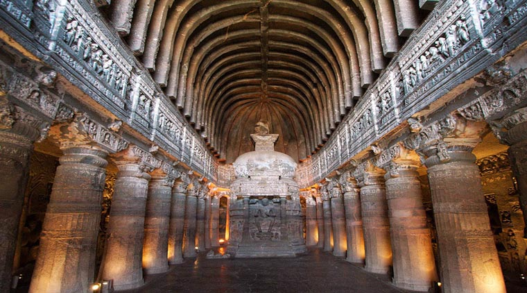 Karla caves mysterious caves in india