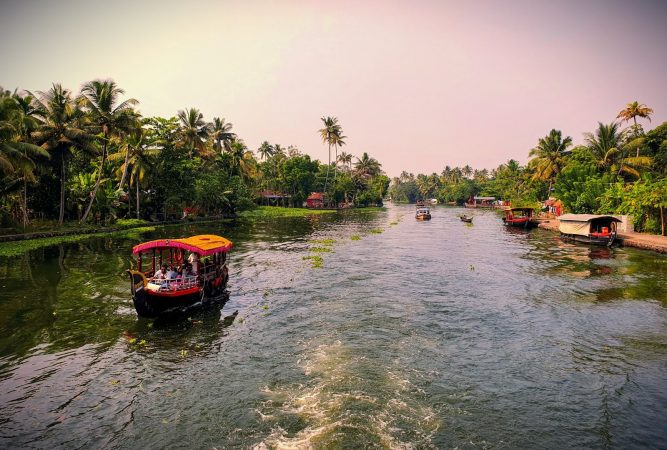 Kerala backwaters best destinations to visit in india