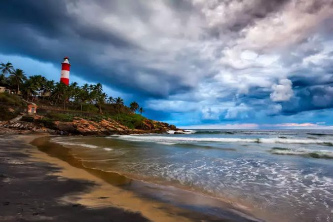 Kovalam Beach beautiful beaches in india