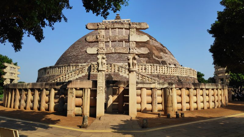 Sanchi Stupa religious places in india
