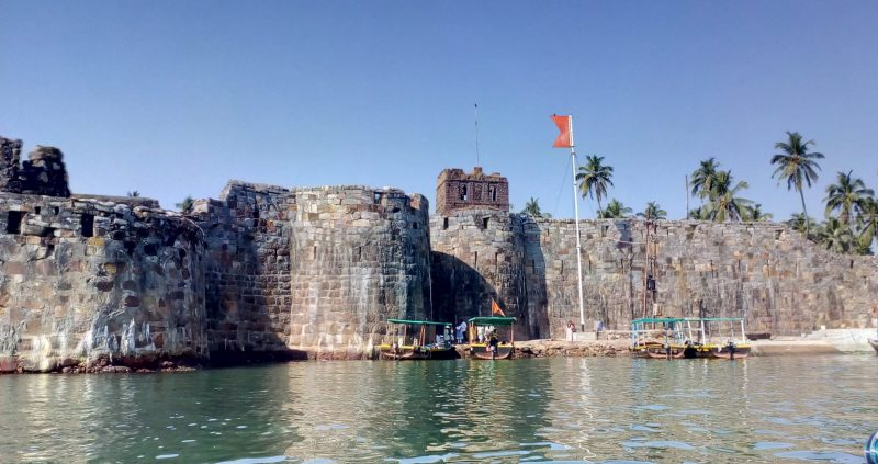 Sindhudurg fort historical place of india