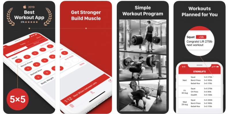 Stronglifts 5*5 app