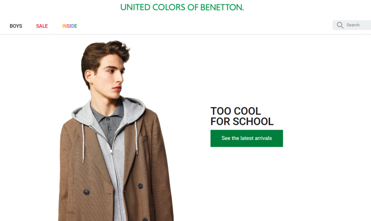 United Colors Of Benetton best clothing for men