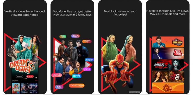 Vodafone play Best T.V. App
