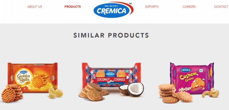 cremica biscuit brand