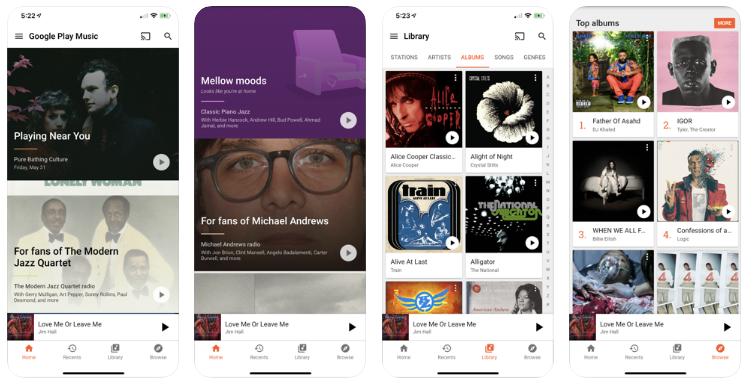 google play best music streaming app