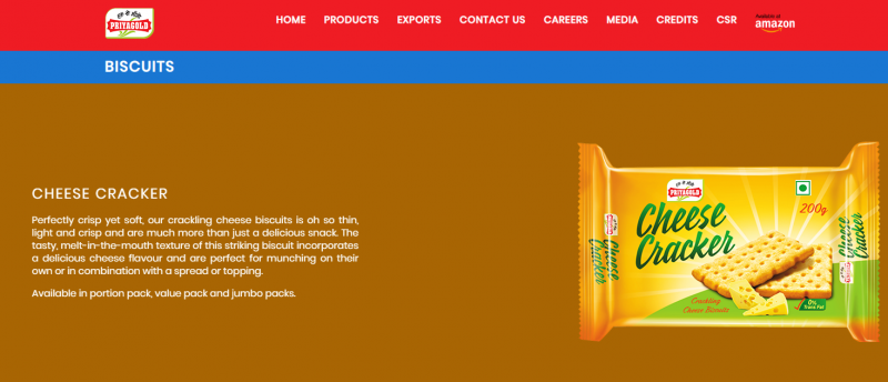 priyagold biscuit brand